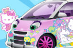 Dekoriraj Hello Kitty Automobil – Hello Kitty Igre